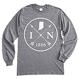 Homeland Tees Indiana Arrow Long Sleeve T-Shirt