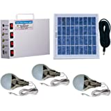 Vicco Solar Home Light Set 6 Volt (White, 3 Watt Panel)