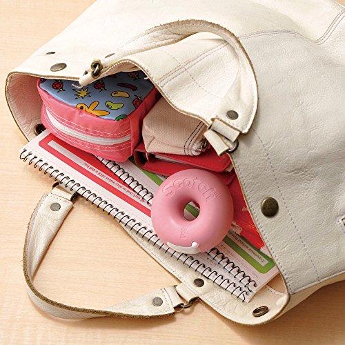 3M Scotch Donut Tape Dispenser - Caramel Brown - 12 mm X 11.4 m Photo #5