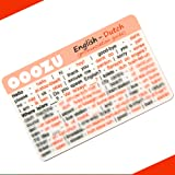 OOOZU Dutch Language Card | Lightweight Credit Card-Sized Dutch Phrasebook Alternative | Essential Words And Phrases For Holidays And Travel To Netherlands, Holland, Amsterdam