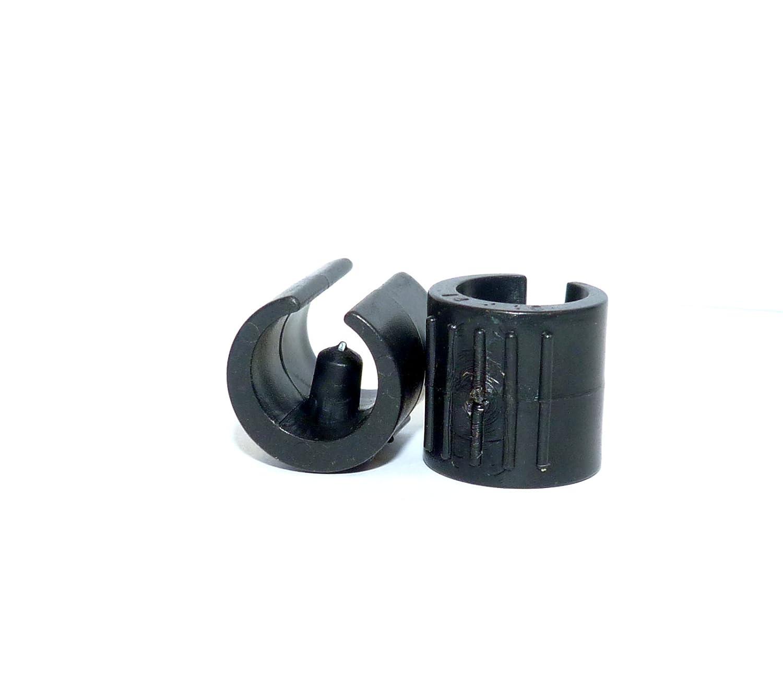 Sujeció n para pata de silla y escritorio (25 unidades, 14-16 mm con una pieza de 5,5 mm, plá stico 5mm plástico Vital Parts SAD003