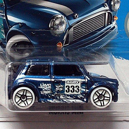 Hot Wheels 2017 HW Snow Stormers Morris Mini 137/365, Dark Blue