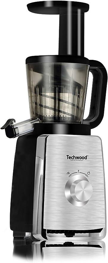 Techwood TCF-153I Extractor de zumo, acero inoxidable: Amazon.es ...