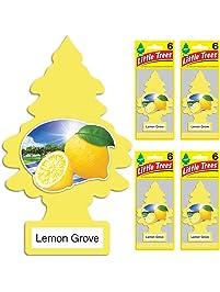 Little Trees auto air freshener, Lemon Grove, 6-Packs (4 Count)