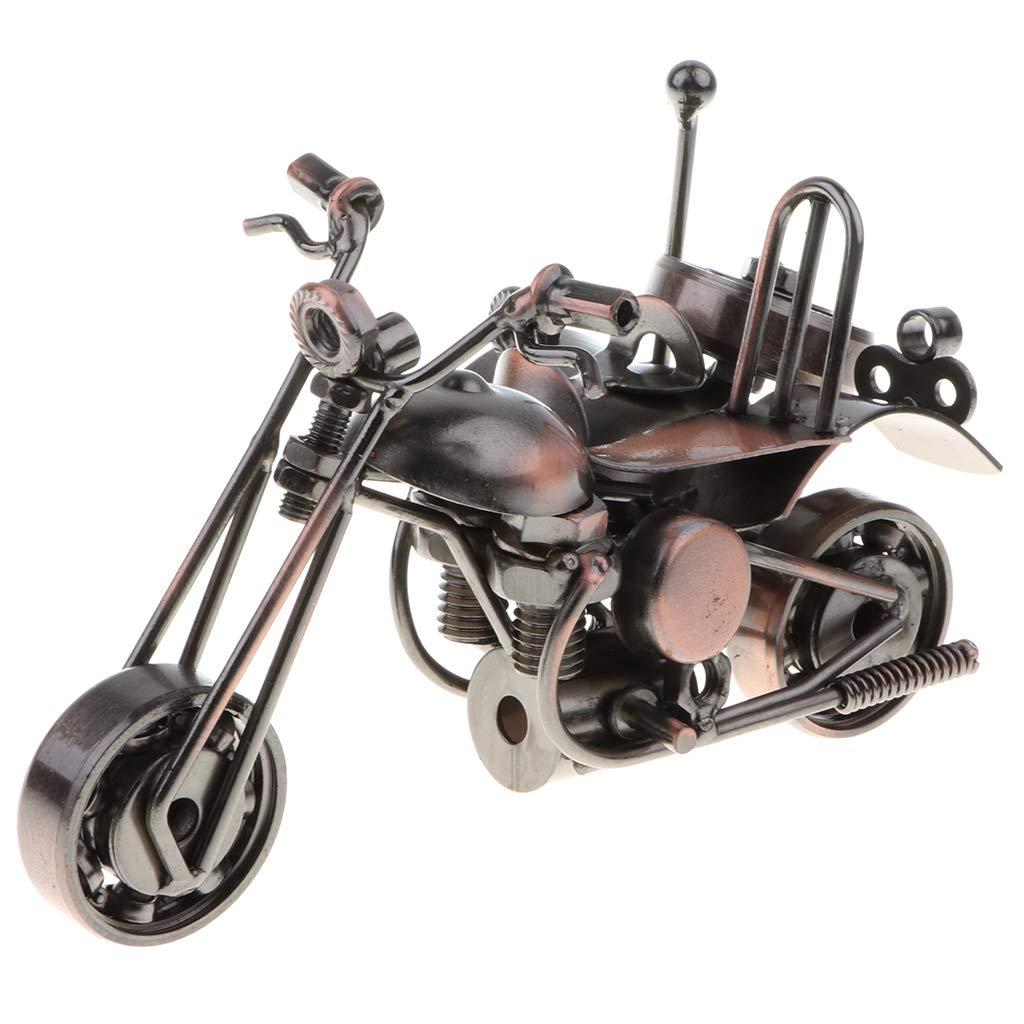 Fenteer 1pcs Metall Motorrad Modell Sammlerst/ück Dekoration F/ür Haus Kneipe Vitrine usw Bar B/üro - # A