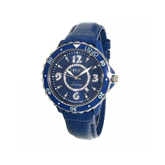 Reloj mujer Liu Jo Luxury Spotlight Regular Piel Azul tlj020