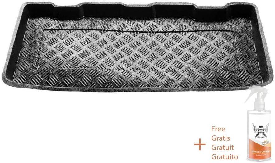 Rezaw Couvre-Coffre en PVC Compatible avec Mini Cooper//One//Hatchback 2001-2006, 2006-2013 + nettoyant en Plastique Cadeau