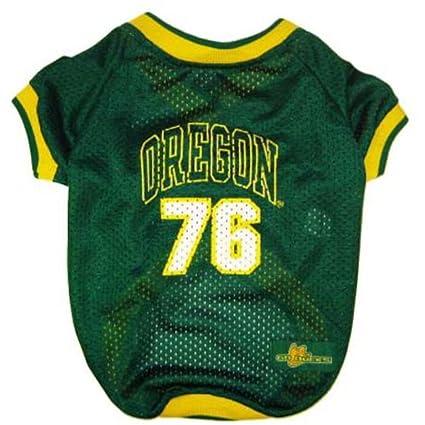 low priced bd5d4 91f76 Amazon.com : Oregon Ducks Dog Jersey : Pet Shirts : Pet Supplies
