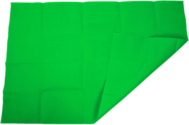 Cikuso Kits de Fonds Marins Studio de Photographie Fond 1Mx1.5M contexte Professionnel Vert