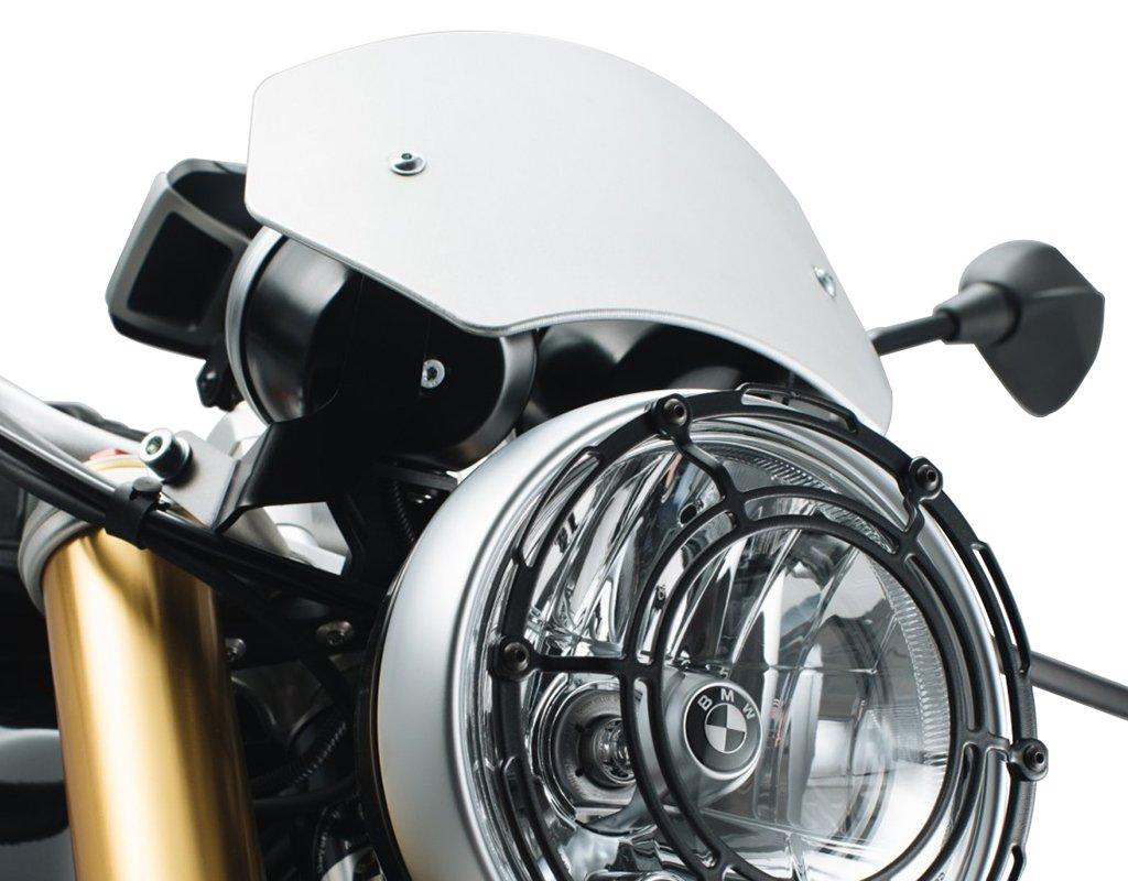 colore: Argento misura 28-42 SW-Motech SCT.07.512.10100//S Parabrezza per BMW R NineT 2014