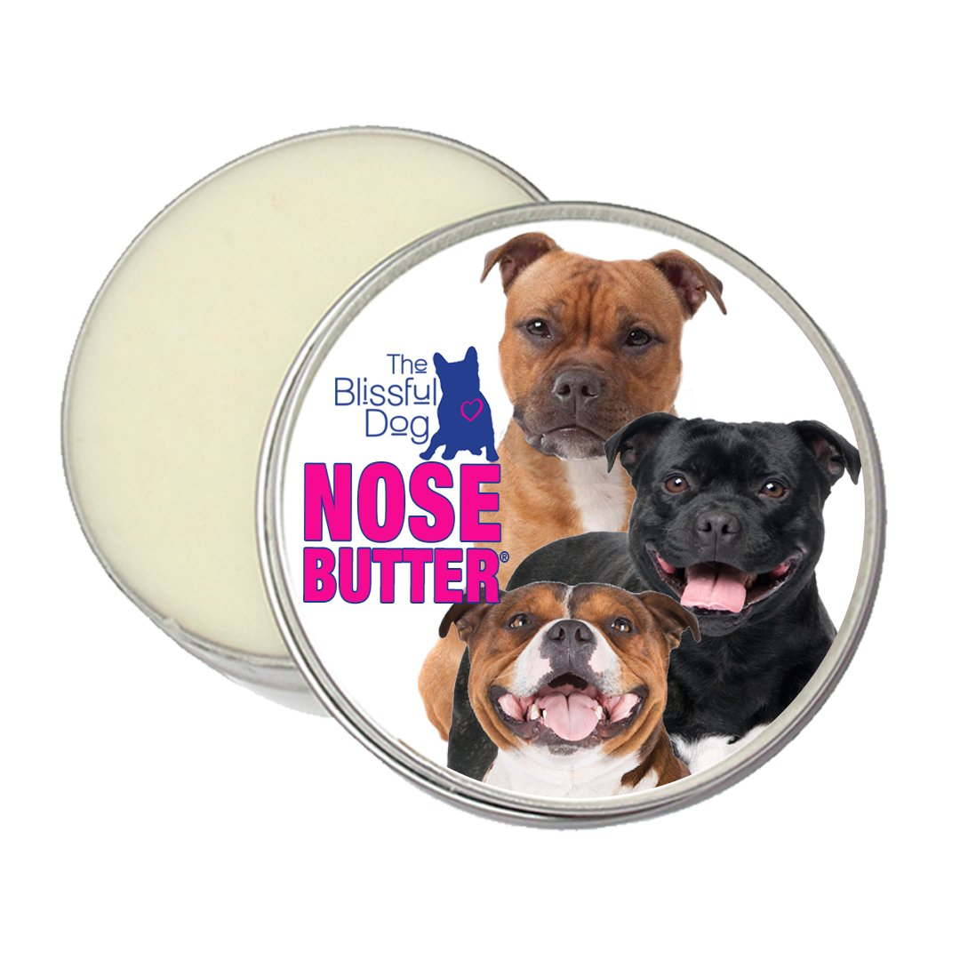 The Blissful Dog Pit Bull Terrier Nose Butter - Dog Nose Butter, 2 Ounce by The Blissful Dog