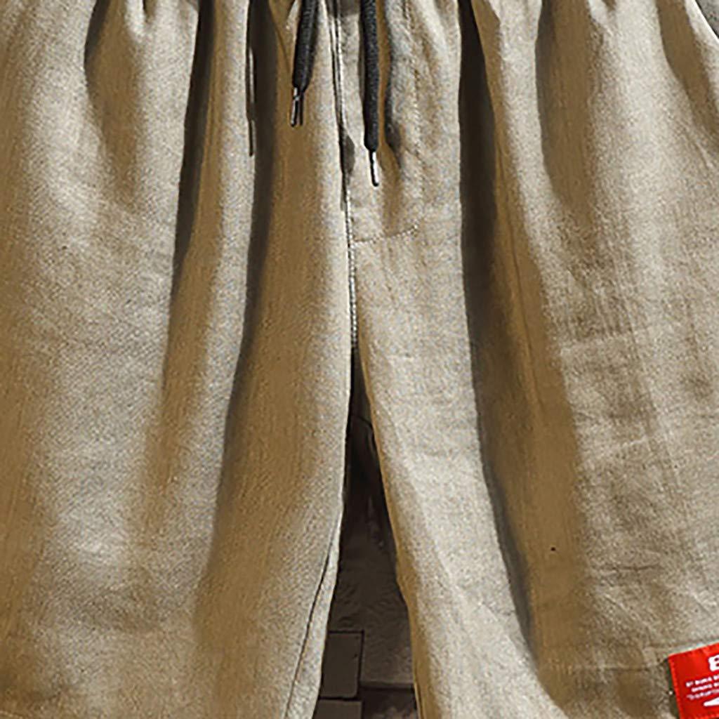 friendGG Pantaloncini da Bagno con Stampa Primaverile Pantaloncini da Surf Estivi da Uomo Pantaloncini Comodi Grigio Verde Kaki freschi e Traspiranti Moda Pantaloni Slim Casual