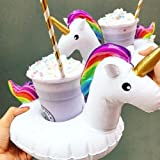 Unicorn Cup Holder Inflatable Pool Float Toy