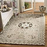 Cheap Safavieh Bella Collection BEL674B Handmade Taupe and Light Grey Premium Wool Area Rug (4′ x 6′)