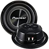 "PIONEER TS-A3000LS4 12"" Shallow-Mount Subwoofer with 1,500 Watts Max. Power"