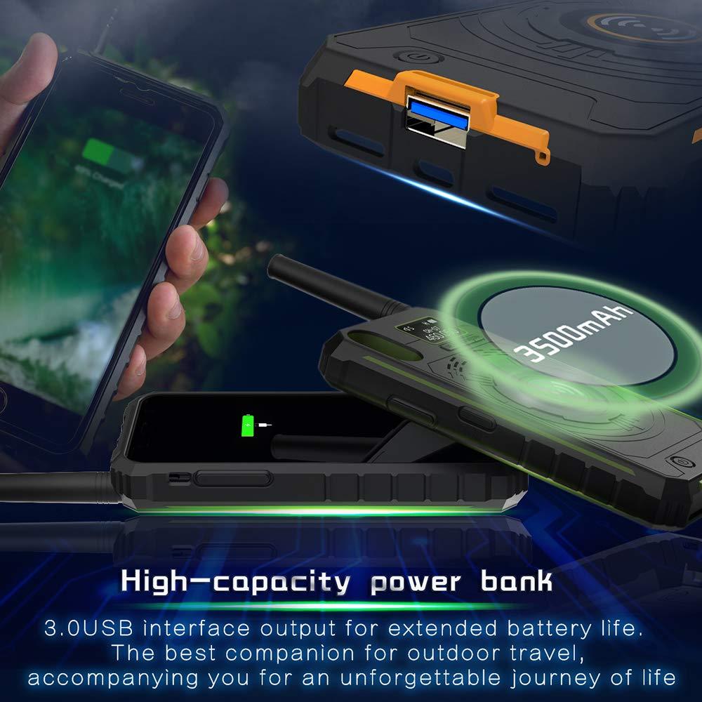 Docooler Outdoor Walkie Talkie 3-in-1 Multi-Function Intercom Power Bank Phone Case BOXCHIP by Docooler (Image #8)