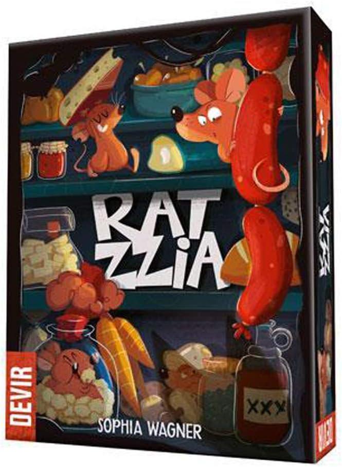 Devir- Ratzzia, el Juego de Mesa, Multicolor (1): Amazon.es ...