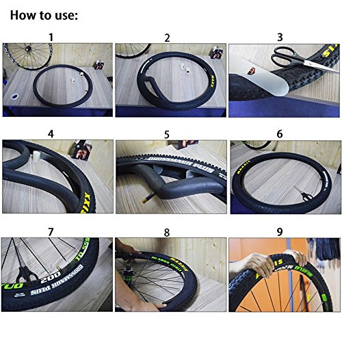 Bicycle Anti-flat Tube Protector Tire Liner Puncture Proof Tap LJ