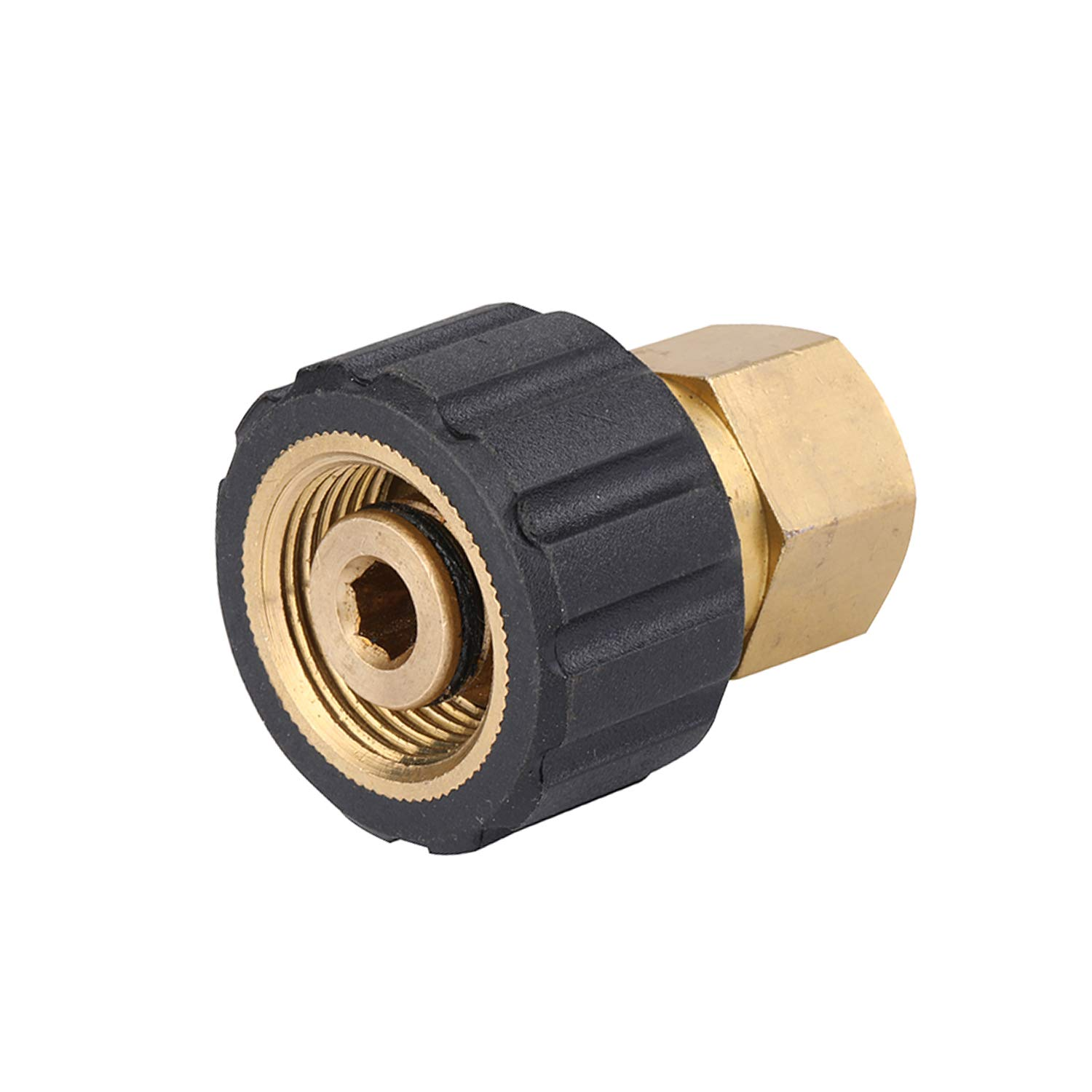 Challco Pressure Washer Adapter 3/8'' Female Thread Metric Socket M22-14mm Connetor by Challco