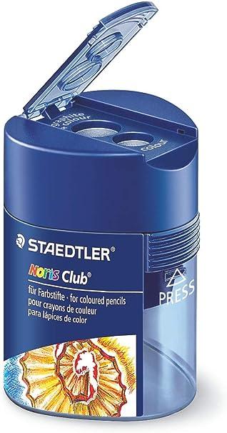 STAEDTLER Noris Club Double-Hole Triangular Tub Sharpener 512 128