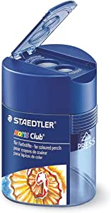 STAEDTLER 512128 - Sacapuntas para lápices de color, color azul: Amazon.es: Oficina y papelería