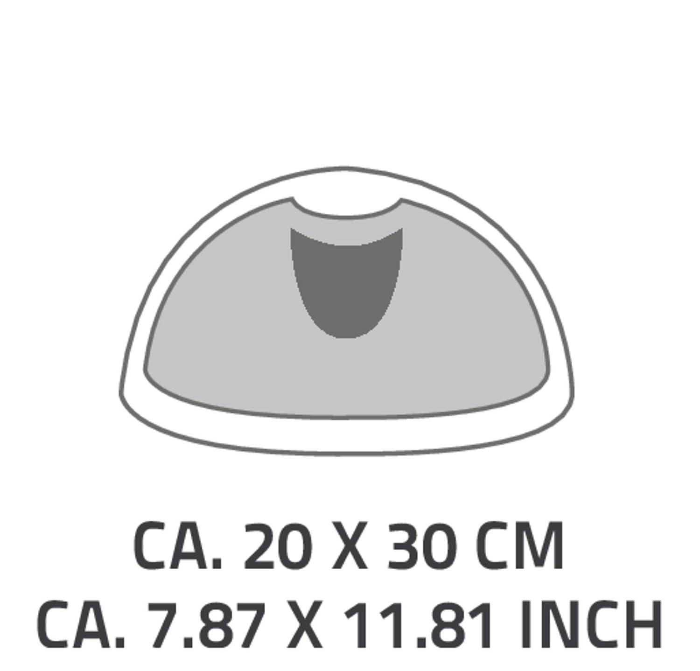 RIDDER Kopfpolster Ice Gold 29x19x4 cm