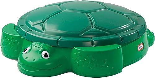 Little Tikes Turtle Sandbox green