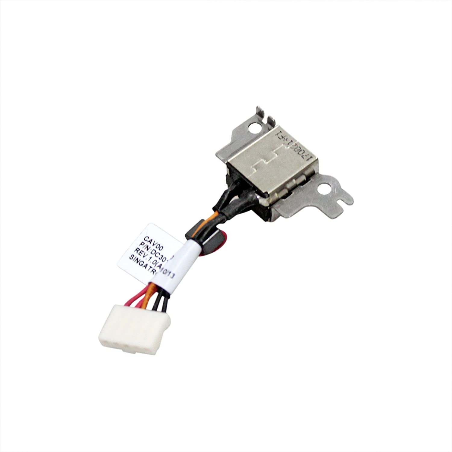 CN, Cable Length: Normal Cables Occus New Power DC Jack with Cable for DELL 11Z Series DC30100870L Occus