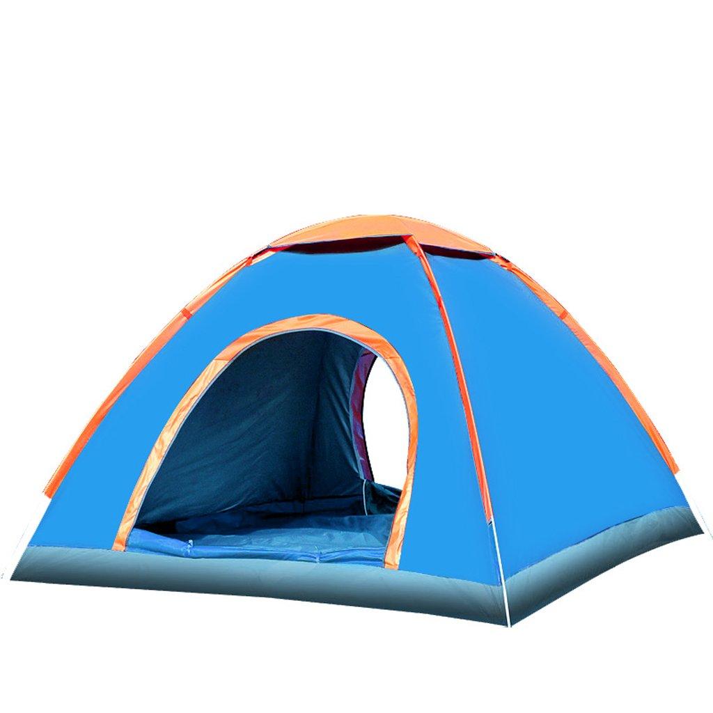 Deng 3-4 Personen Outdoor-Camping-Einzel- oder Doppel automatische Zelt Strandzelt regen Anzug und Ausrüstung