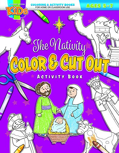 The Nativity Color & Cut Out]()