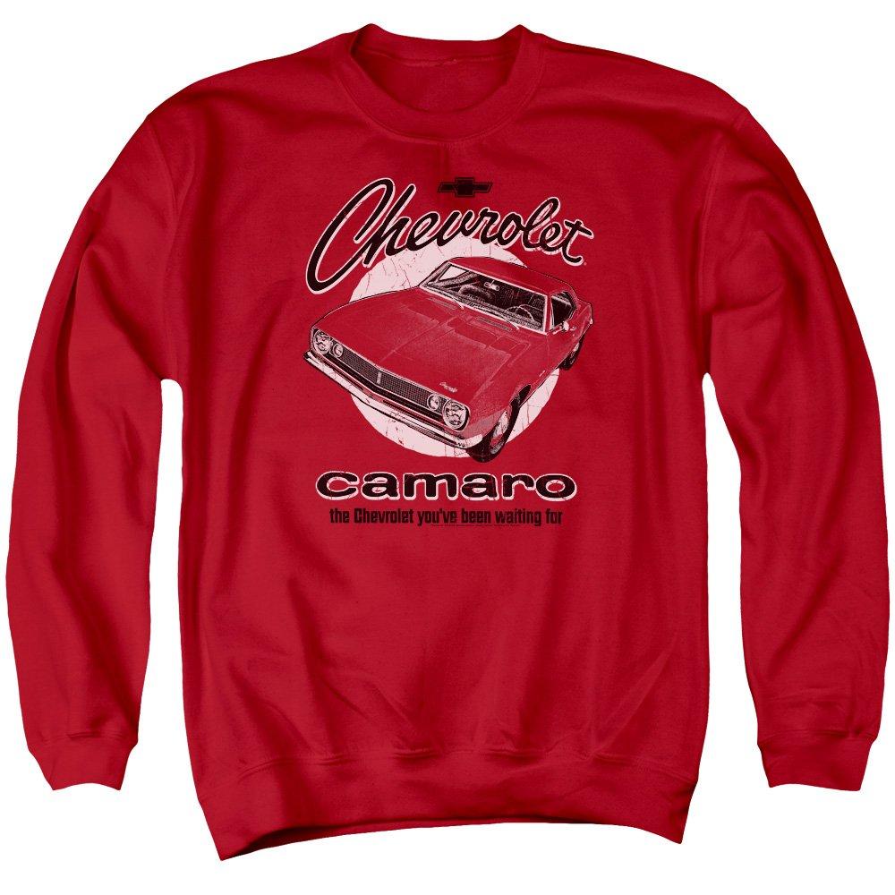 Chevy Retro Camaro Mens Crewneck Sweatshirt Trevco