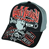 Gas Monkey Garage Hat Best Deals - Gas Monkey Garage Men's Curved Brim Baseball Cap, Black, One Size