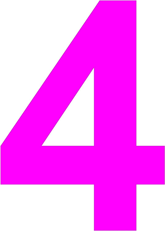 100 mm Selbstklebende gestanzte Zahl passende /Übertragungsfolie Nr | braun Vinyl Glanz Beschriftung Hausnummer 0 Gr/össe L = 10 cm Sticker das-label Scrapbook