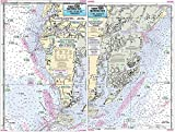 Cape Charles with Fisherman's Island, VA - Laminated Nautical Navigation & Fishing Chart by Captain Segull's Nautical Sportfishing Charts | Chart # CCH346