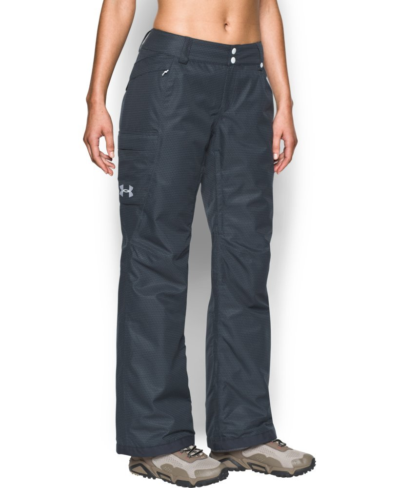 Under Armour Women's ColdGear Infrared Chutes Insulated Pants, Stealth Gray/Steel, X-Small