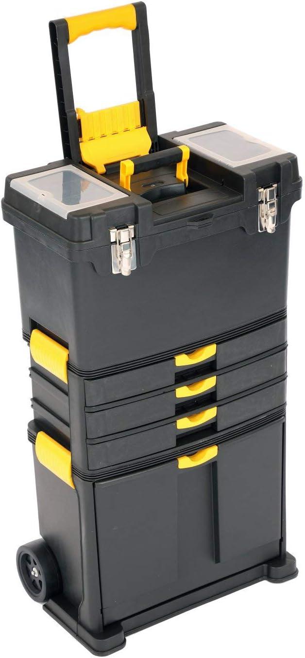 Oypla - Caja de herramientas con ruedas, carrito de almacenamiento ...