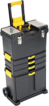 Oypla - Caja de herramientas con ruedas, carrito de ...