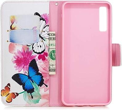 Case/Cover Proteja su teléfono Celular Estuche de Dibujo con Dibujo Horizontal a Color para Samsung