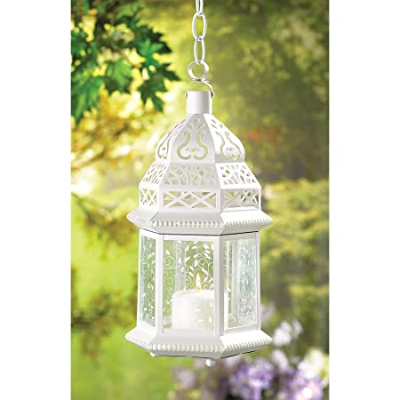 20 large moroccan lantern wedding centerpieces amazon co uk rh amazon co uk Moroccan Lantern Centerpieces with Flowers Moroccan Lantern Centerpieces with Flowers
