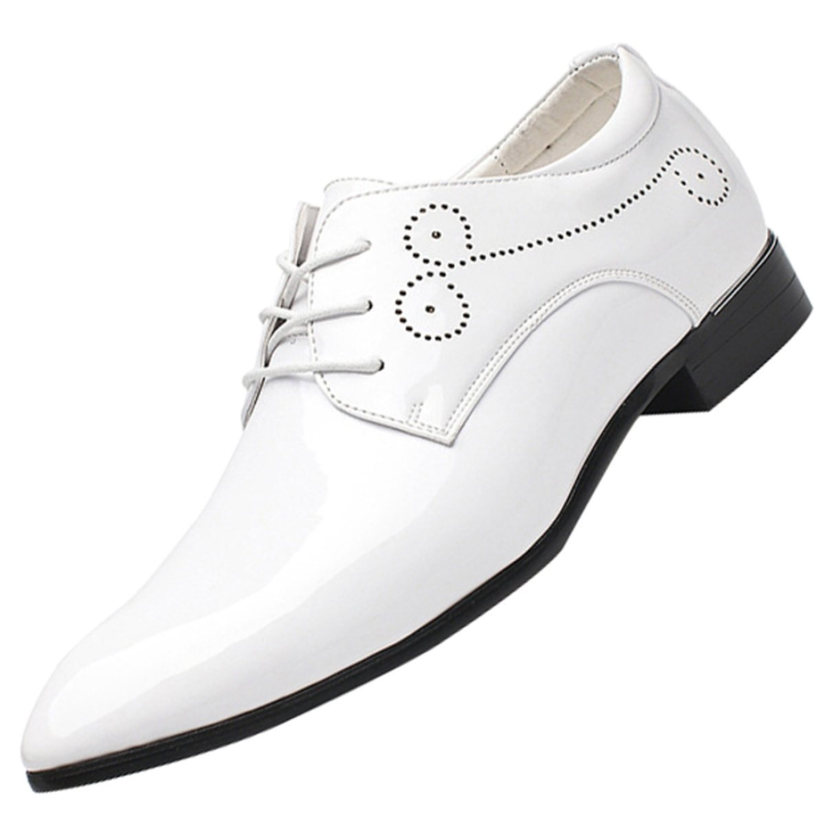 QVRGE Zapatos De Estilista De Cabello De Zapatos De Cuero ...