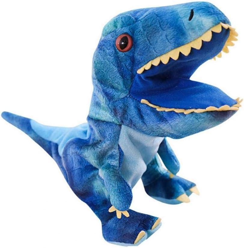 Del Dinosaurio De Juguete De Felpa Marionetas De Mano Juguetes Animal De La Historieta Marionetas De Mano Con La Boca De Trabajo De Rol Juguete Para Niños