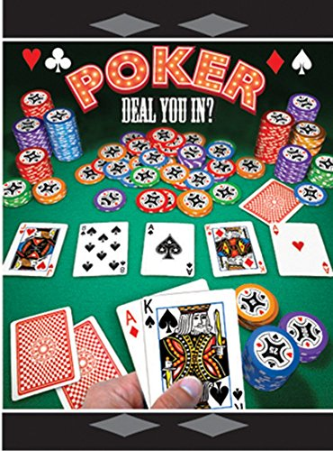 Casino Night 'Poker' Invitations w/ Envelopes (8ct)