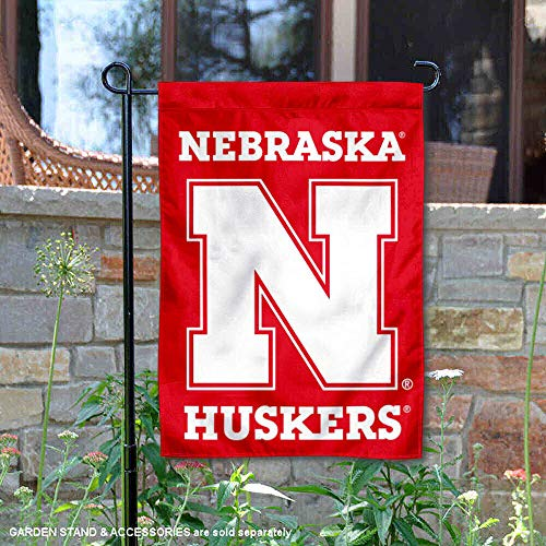College Flags and Banners Co. Nebraska Cornhuskers N Logo Garden Flag