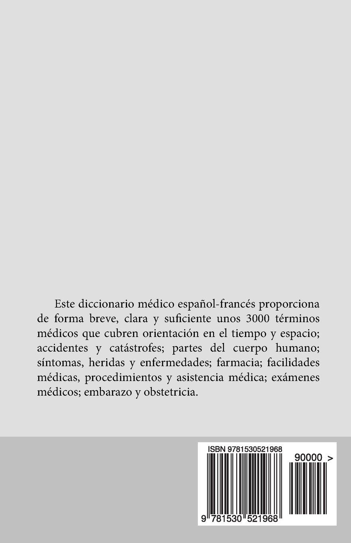 Diccionario medico para viajeros: Espanol - Frances (French Edition ...