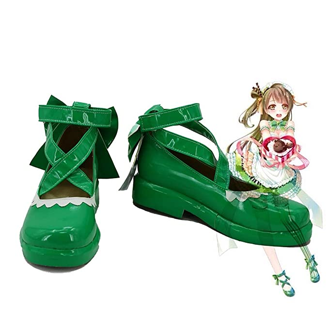 LoveLive! Love Live Happy Valentine's Day Maid Live! Minami Kotori Cosplay Shoes Boots Custom Made