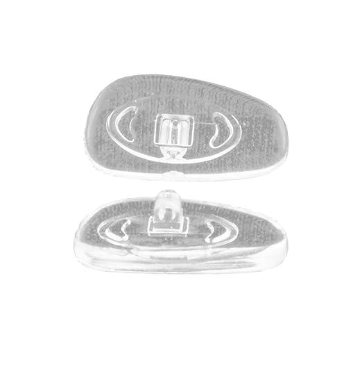 3 opinioni per Edison&King- Naselli di ricambio per occhiali, in silicone/titanio, varie forme