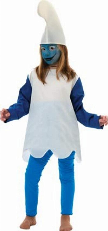 Disfraz Pitufina niña. Talla 5/6 años.: Amazon.es: Juguetes y juegos