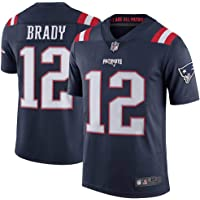 41b5a30fb Best Sellers in Men s Football Jerseys.  1. Men s Tom Brady  12 New England  Patriots Limited Navy Stitch Jersey