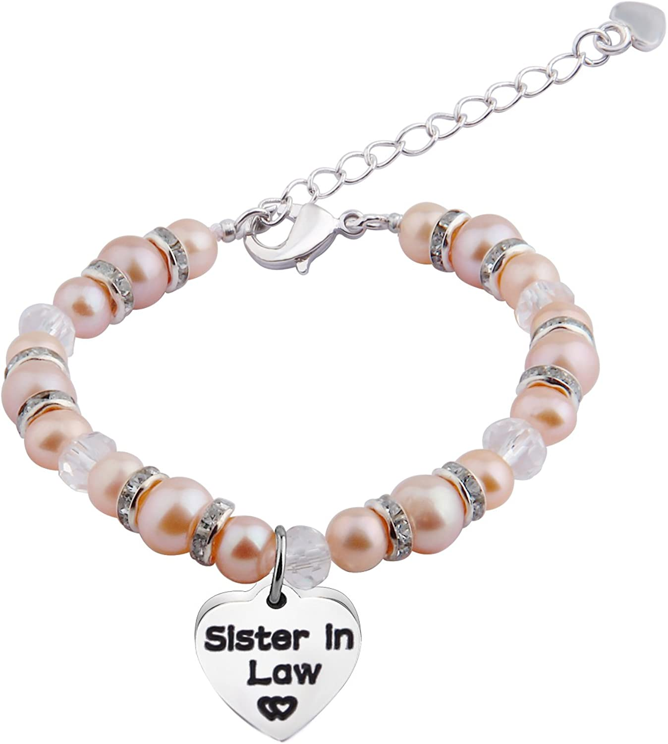 Zuo Bao Sister in Law Bracelet Nature Pearl Bracelet Wedding Jewelry Gifts for Her