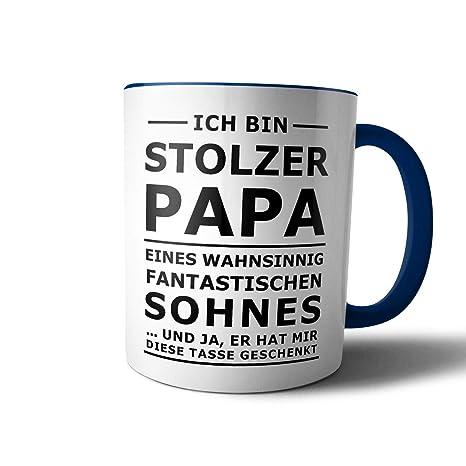 Creativgravur Tasse Mit Spruch Stolzer Papa Stolze Mama Kaffeetasse Kaffeebecher Kaffeepot Frühstückstasse Bürotasse Motivmotiv 08